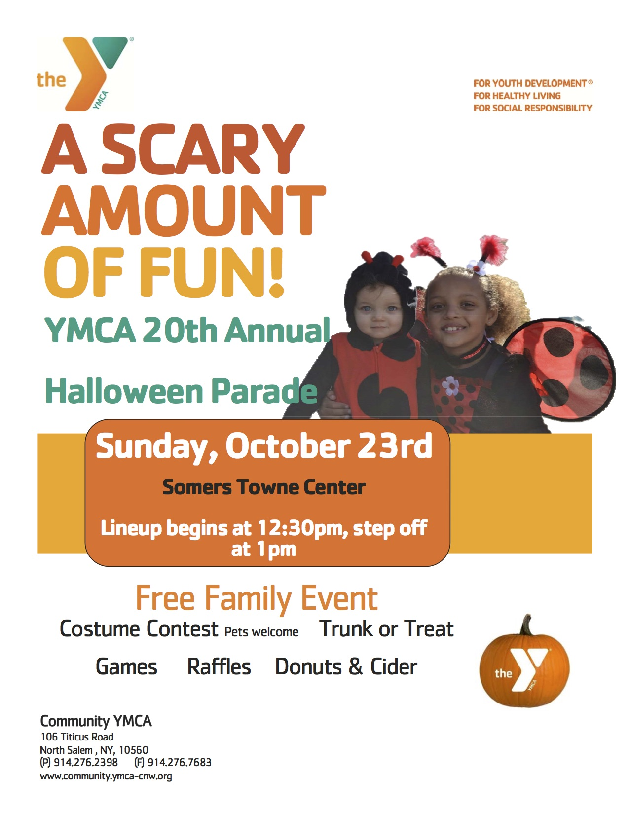 Somers Ny Halloween Parade 2020 YMCA Halloween Parade | Somers Chamber of Commerce